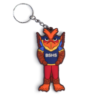 Centenary Griffin Key Chain