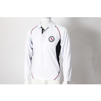 Cricket Boys Long Sleeve Polo