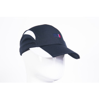 Supporter Cap with Corporate Logo Navy/White